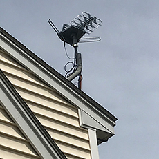 Rooftop high definition antenna